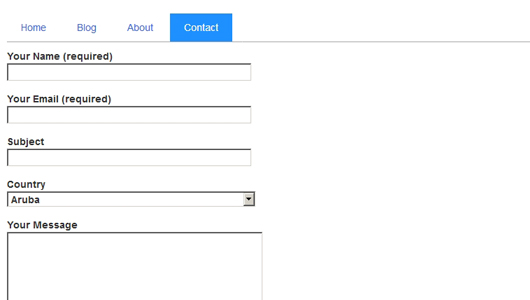 Beekeepersblog How To Add List Of Countries In Contact Form 7